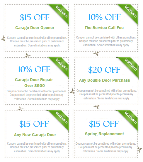 Garage Door Repair Coupons Aliso Viejo